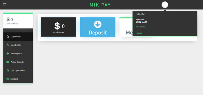 MikiPay DashBoard - מיקיפיי לוח בקרה